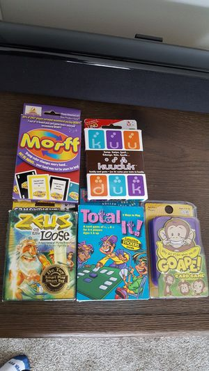 Kids card games, new, each for Sale in Southgate, MI
