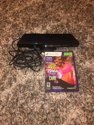 Xbox Kinect 360 with Zumba Fitness for Sale in Brandywine, MD