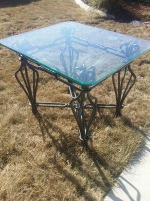 Glass End Table for Sale in Austin, TX