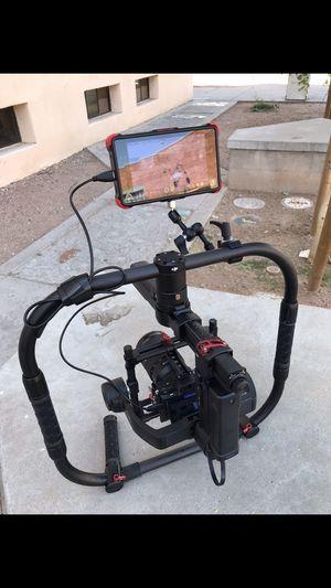 DJI Ronin MX with Ronin M-MX Grip, 4 batteries, and Nanuk 960 case for Sale in Phoenix, AZ