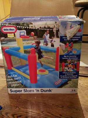 LITTLE TIKES SUPER SLAM N' DUNK for Sale in Oak Lawn, IL