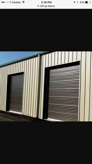 Roll up doors for storage, shed, barn, steel buildings etc. for Sale in Orlando, FL
