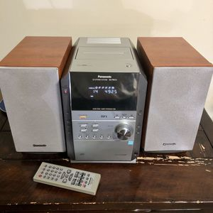 Panasonic SA PM19 HiFi CD Stereo System 5 Disc Changer MP3 Bi-Amped Loud for Sale in White Plains, MD