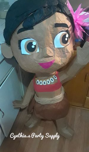 Baby moana pinata for Sale in East Los Angeles, CA