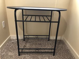 Small black table for Sale in Federal Way, WA