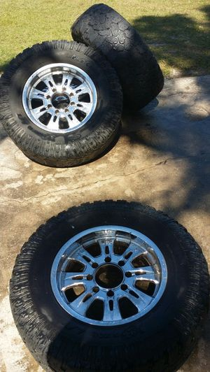Rims & tires 35× 12.50R18LT for Sale in Kissimmee, FL