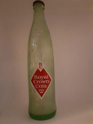 antique RC cola bottle /w cap for Sale in San Antonio, TX