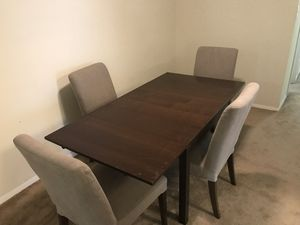Foldable dining table for Sale in Oakton, VA