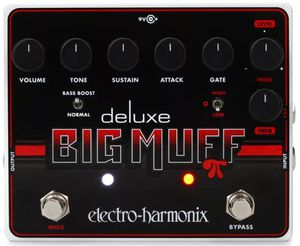 Electro-Harmonix Deluxe Big Muff Pi Fuzz Pedal with _EXPRESSION PEDAL_ !! for Sale in Frederick, MD