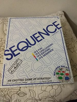 Sequence Board game NEW (unopened) for Sale in Lombard, IL