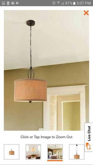 New oil rubbed bronze chandelier for Sale in Columbus, OH