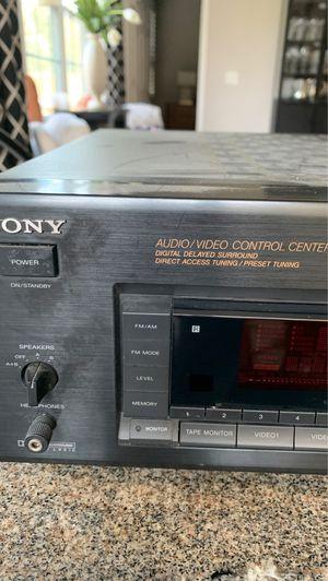 Sony audio video control center- Receiver for Sale in Aurora, IL