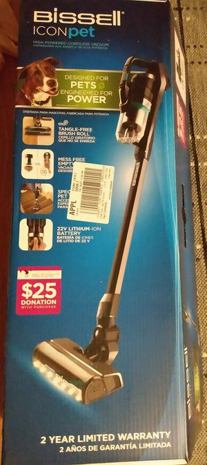 Bissell icon pet cordless vacuum for Sale in Lakewood, CO