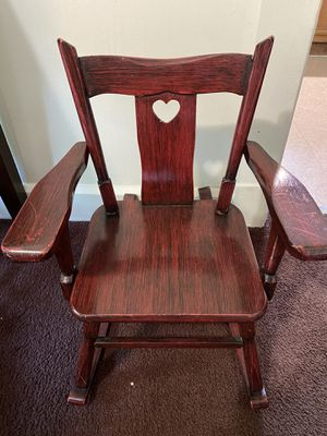 Mini rocking chair for Sale in Strongsville, OH