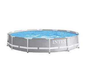 Intex 12ft x 30in Prism Metal Frame Above Ground Swimming Pool w/ Pump for Sale in Miami, FL