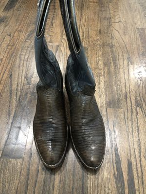 Dan Post Lizard (Authentic) men's boots 9D for Sale in Dallas, TX