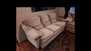 Soft plush couches sofas loveseat for Sale in Portland, OR