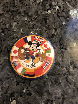 Walt Disney Epcot Button Pin for Sale in Littleton, CO