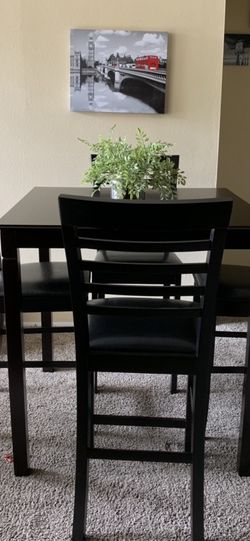 Special Brand New Pub Dining Set ( Table and 4 Chairs Wood ) ⭐️😊☀️ for Sale in San Diego,  CA