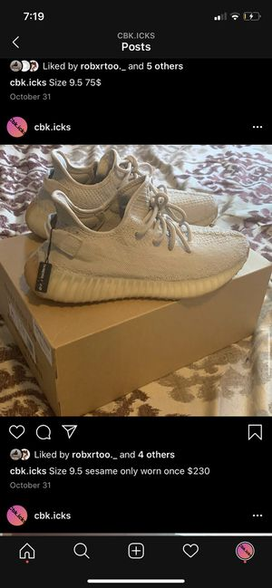 Yeezy boost 350 sesame for Sale in Durham, NC