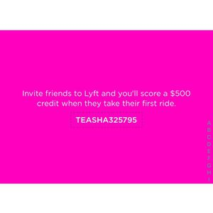 Free Lyft Rides Up To $500 for Sale in Washington, DC