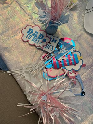 Gender Reveal Decor for Sale in Raleigh, NC