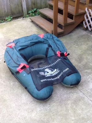 Creek Company U-Boat Float Tube - Excellent Condition for Sale in Chicago, IL