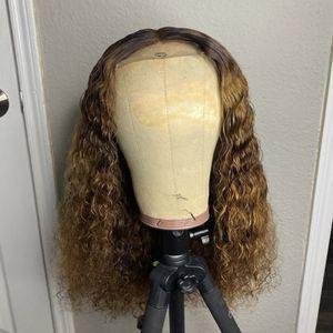 Curly 4x4 Closure Brazilian Hair Wig for Sale in Marietta, GA