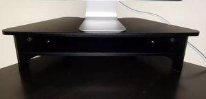Computer Monitor Riser Color Black for Sale in Pembroke Pines, FL
