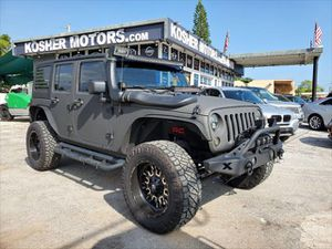 2012 Jeep Wrangler Unlimited for Sale in Hollywood, FL