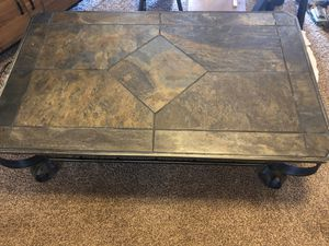 Solid metal-iron table (excellent condition) for Sale in Euless, TX