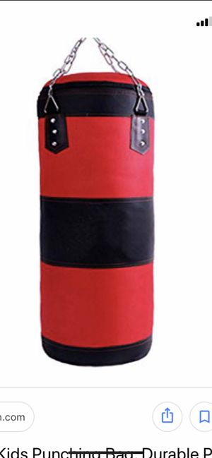 Groofoo punching bag with boxing glove for Sale in Columbus, OH
