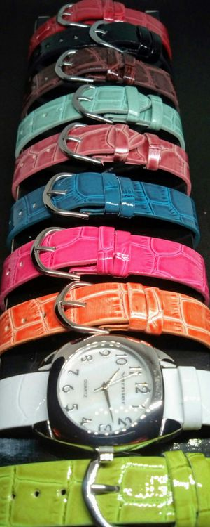 Vernier Women's 10Pcs Mother of Pearl Quartz Interchangeable Watch Set Brand New in Box for Sale in Boca Raton, FL