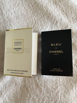Chanel perfume samples him & her for Sale in Eastvale, CA