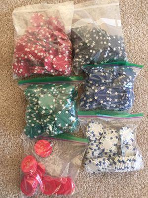 Lot of Poker Chips for Sale in Rockville, MD