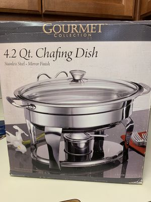 4.2 Qt Chafing Dish for Sale in Irving, TX