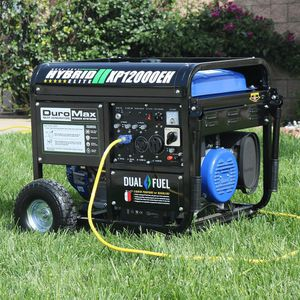 NEW UNUSED!! DuroMax 12,000 Max 9,500 Running Watts Dual Fuel Generator for Sale in Columbus, OH