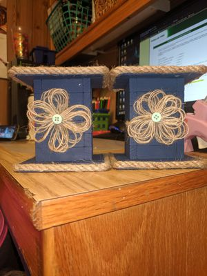 Homemade candle holders for Sale in Williamsport, PA