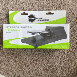 Live Wire Solutions Keyboard Sustain Pedal for Sale in Valparaiso,  IN