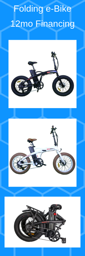 48 volts Samsung 500 watts Folding Electric Bike Bicycle eBike Fat Tire mini e-Bike rad for Sale in South Gate, CA