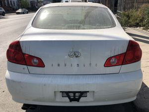 2006 Infiniti G35 G35x AWD Sedan Parts for Sale in Queens, NY