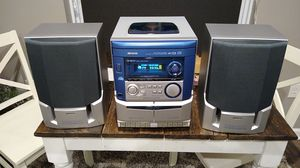 aiwa Stereo system w/ FM AM Tuner 3 disc CD player Cassette player for Sale in Cranberry Township, PA
