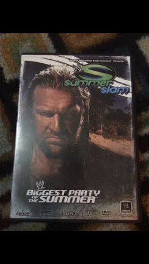 2007SummerSlam - Biggest Party of the Summer Dvd for Sale in Hazleton, PA