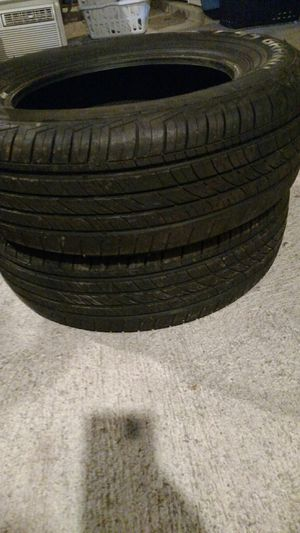 195 65 15 pair of tires 80% life left Cooper for Sale in Clinton, MA