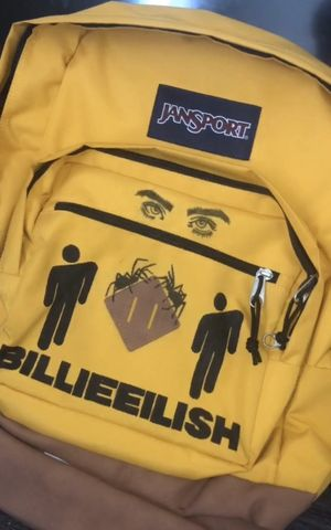 custom Jansport X billie eilish backpack for Sale in Manvel, TX