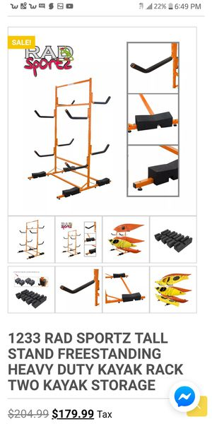 Kayak stand - never used for Sale in Saint Charles, MO
