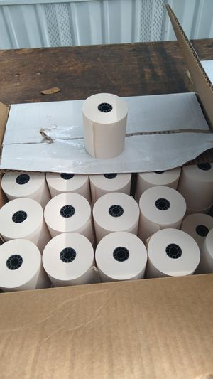 Printer paper rolls for Sale in Tampa, FL