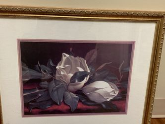 Beautiful Maroon Rose Print For Sale! for Sale in Raleigh,  NC