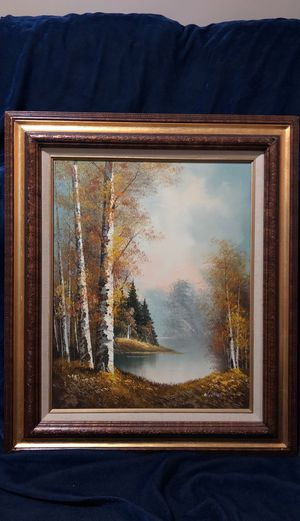 Oil painting on canvas for Sale in Ontarioville, IL
