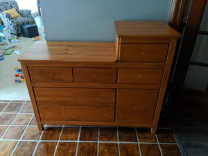 Wood changing table for Sale in Windermere, FL